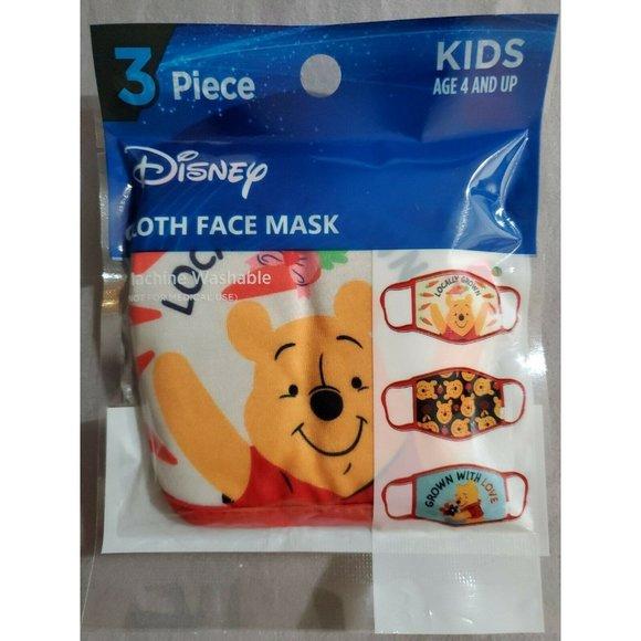 Berkshire Disney Winnie The Pooh Cloth Face Mask 3